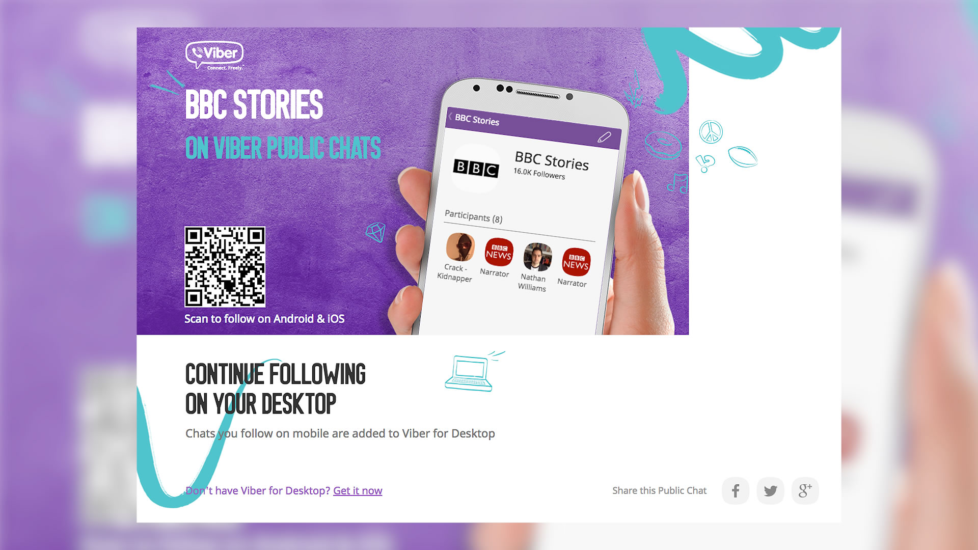BBC Partners with Viber Public Chats as a New Media