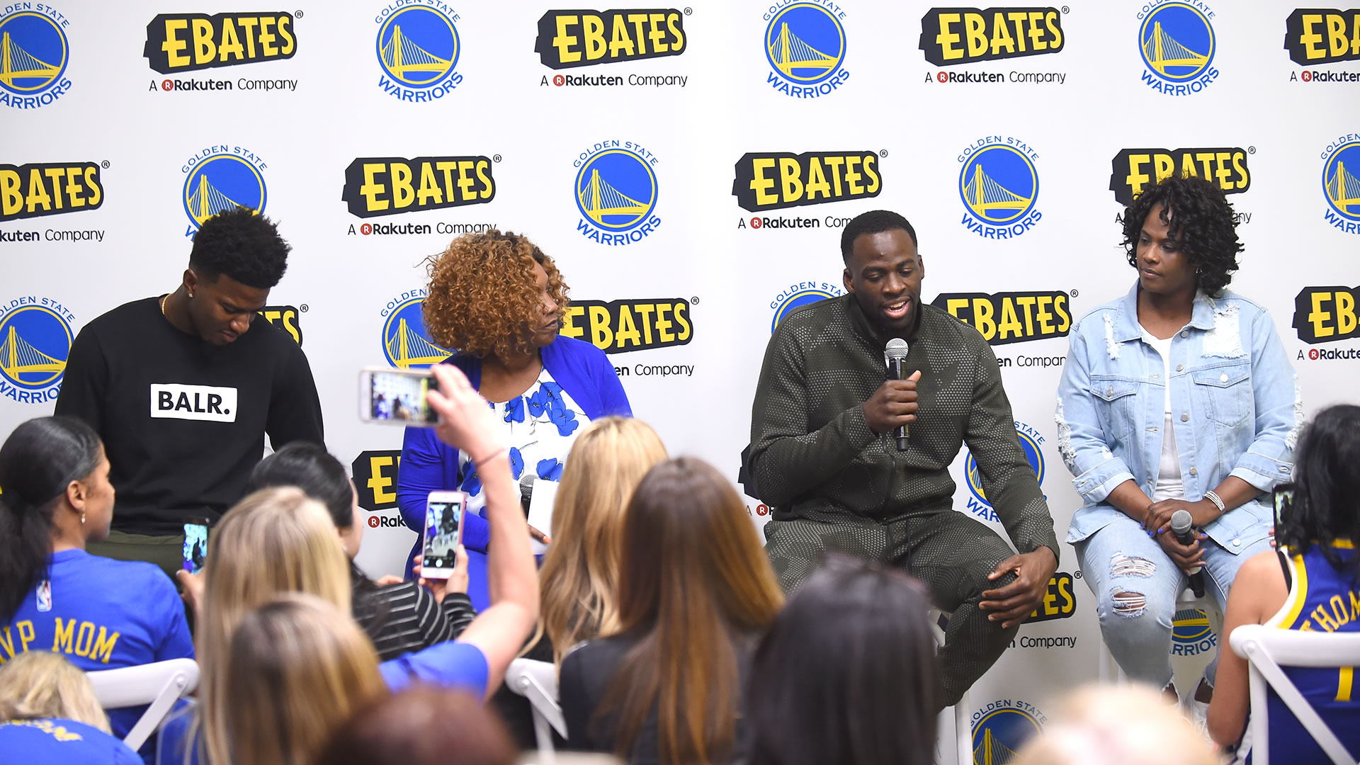 Rakuten Teams Up with Warriors to Inspire Moms