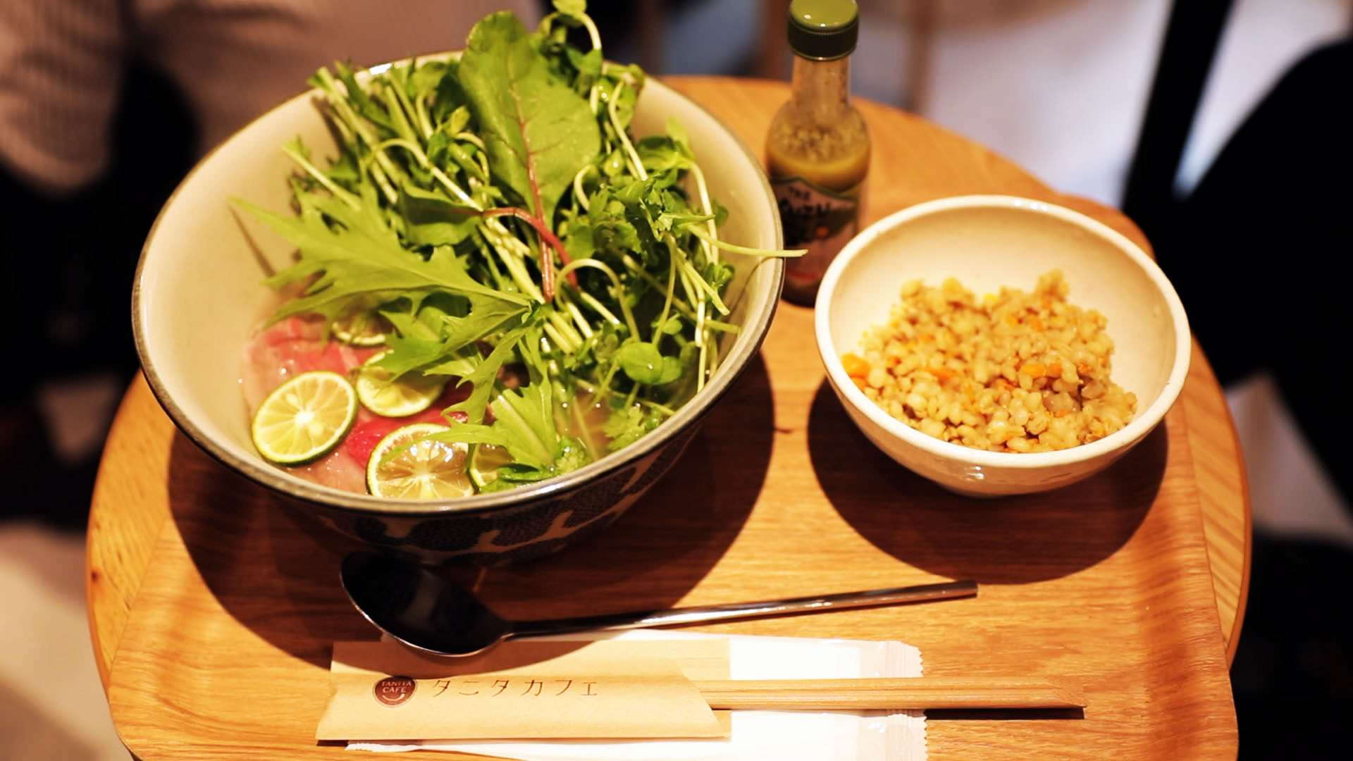 Rakuten Ragri's Vegetables Enrich Dishes at TANITA CAFÉ