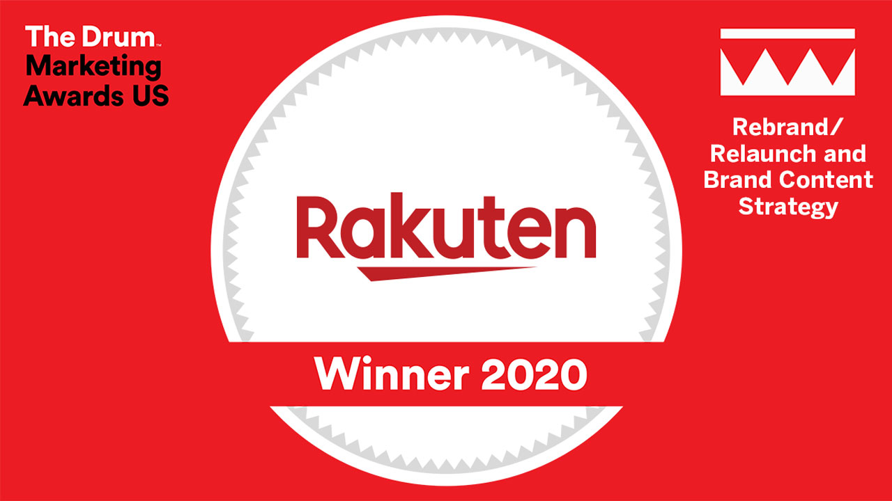 Rakuten Rewards Wins at The Drum Marketing Awards USA 2020