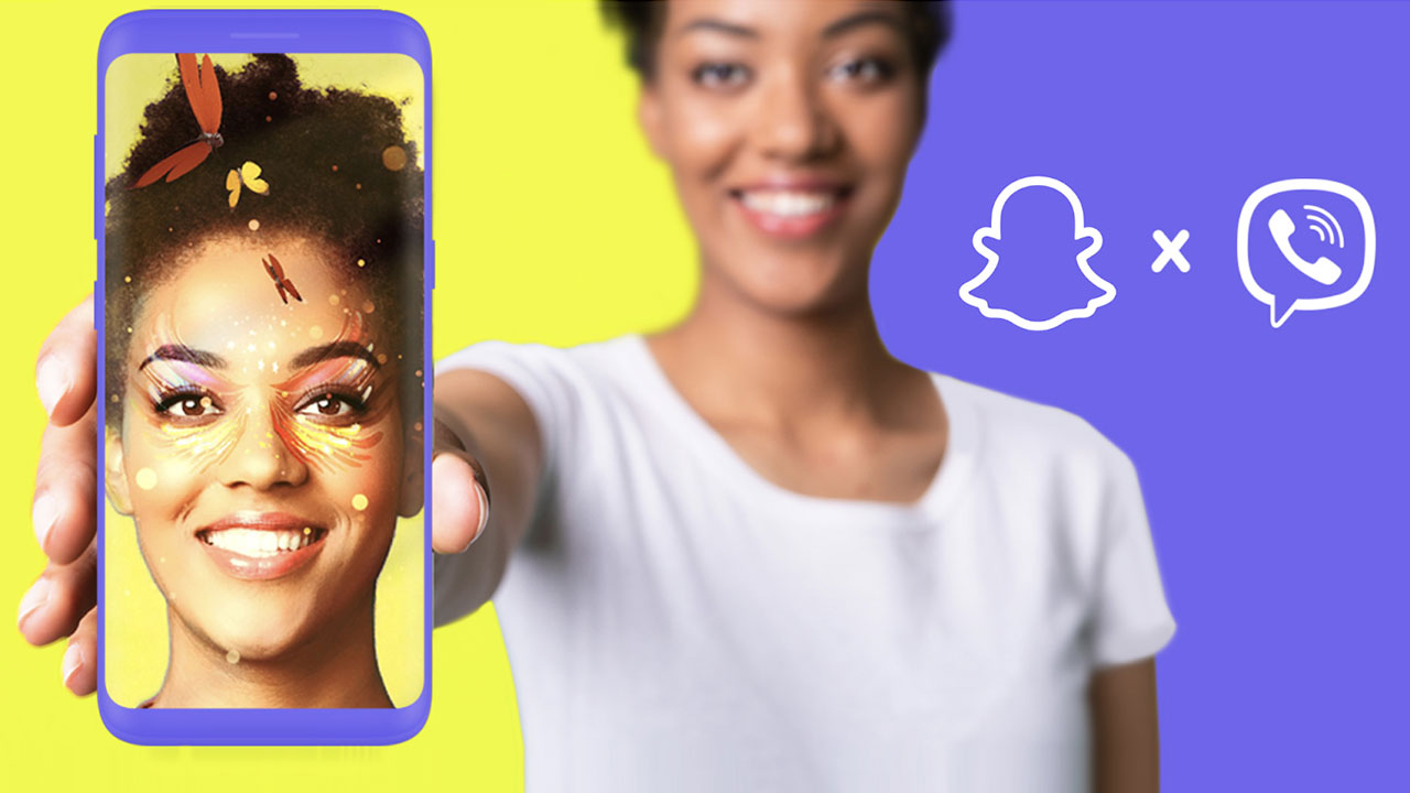 Viber and Snap Liven Up Messaging with AR Lenses
